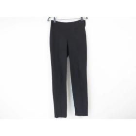 【中古】 グッチ GUCCI パンツ サイズ40 M レディース ダークブラウン 裾にファスナー