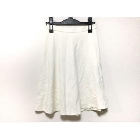 【中古】 スピック&スパン ノーブル Spick & Span Noble スカート サイズ38 M レディース 白