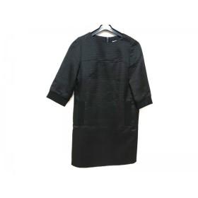 【中古】 アドーア ADORE ワンピース サイズ38 M レディース 黒