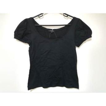 【中古】 アルアバイル allureville 半袖Tシャツ サイズ2 M レディース 黒