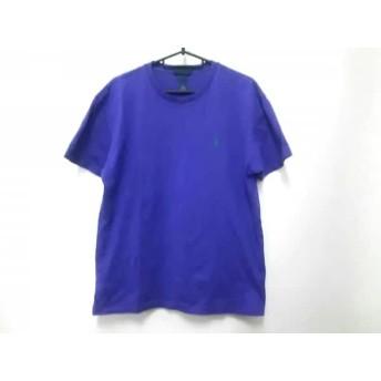 【中古】 ポロラルフローレン POLObyRalphLauren 半袖Tシャツ サイズS メンズ パープル