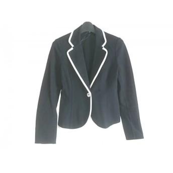 【中古】 アナイ ANAYI ジャケット サイズ38 M レディース 黒 白