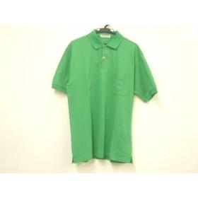 【中古】 マンシングウェア Munsingwear 半袖ポロシャツ サイズSX メンズ 美品 グリーン