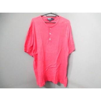 【中古】 ポロラルフローレン POLObyRalphLauren 半袖Tシャツ サイズLL メンズ ピンク