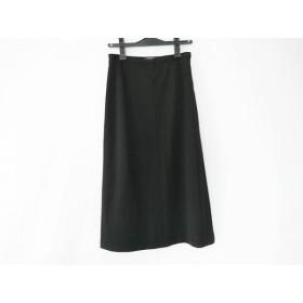 【中古】 バーバリーロンドン Burberry LONDON ロングスカート サイズ40 L レディース 黒