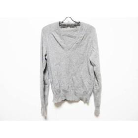 【中古】 バレンシアガ BALENCIAGA 長袖セーター サイズS メンズ グレー