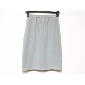【中古】 イタリヤ 伊太利屋/GKITALIYA スカート サイズ7A2 レディース ライトグリーン