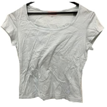 【中古】 オールドイングランド OLD ENGLAND 半袖Tシャツ サイズ36 S レディース ライトブルー