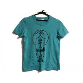 【中古】 ネネット Ne-net 半袖Tシャツ サイズ2 M レディース グリーン 黒