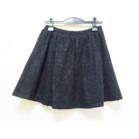【中古】 フリーズショップ FREE'S SHOP スカート サイズM レディース 黒