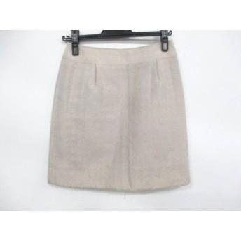 【中古】 バーバリーロンドン Burberry LONDON スカート サイズ36 M レディース アイボリー