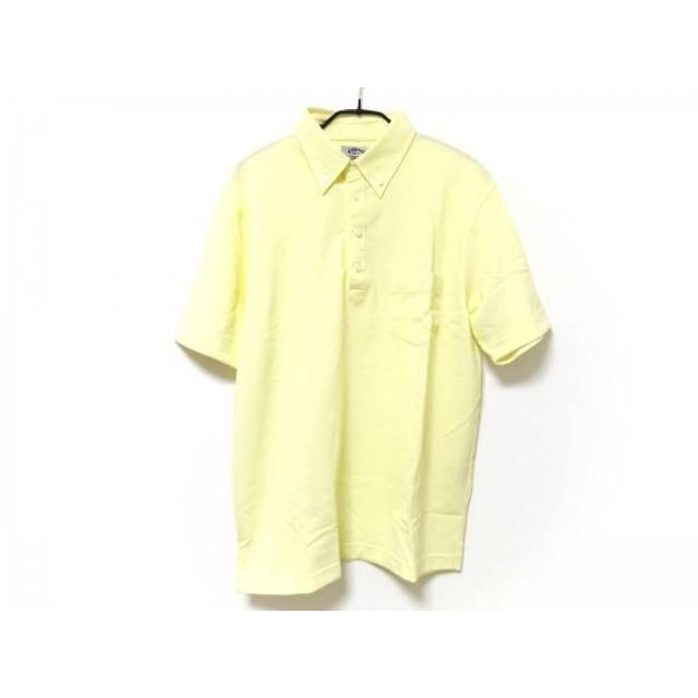 【中古】 キャロウェイ CALLAWAY 半袖ポロシャツ サイズL メンズ イエロー