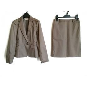 【中古】 プロポーションボディドレッシング スカートスーツ サイズ2 M レディース ダークブラウン