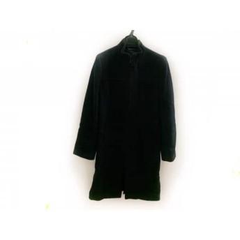 【中古】 コムサイズム COMME CA ISM コート サイズF レディース 黒 ジップアップ/冬物