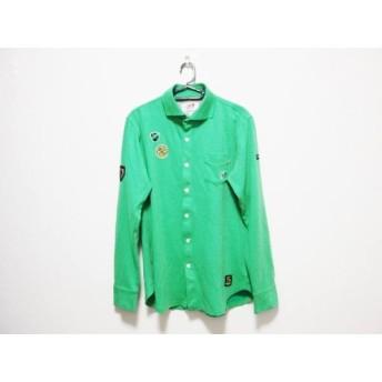 【中古】 マスターバニーエディション MASTER BUNNY EDITION 長袖シャツ サイズ4 XL メンズ グリーン
