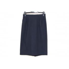 【中古】バーバリーズ Burberry's スカート サイズ9 M レディース ダークネイビー