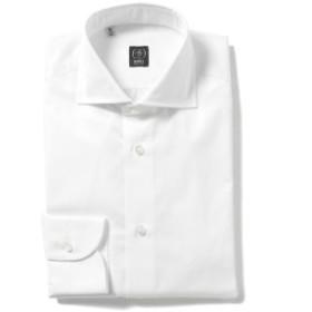 BEAMS F / ファインツイル ワイドカラーシャツ(ITALY製) メンズ ドレスシャツ WHITE/1 41