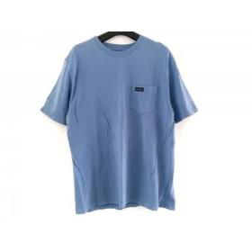 【中古】 ワイルドシングス WILD THINGS 半袖Tシャツ サイズM メンズ ライトブルー