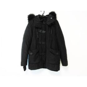 【中古】 スライ SLY コート サイズ1 S レディース 黒 冬物/ジップアップ/N-3B