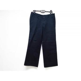 【中古】 トゥモローランド TOMORROWLAND パンツ サイズ48 XL メンズ ネイビー
