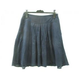 【中古】 バナナリパブリック BANANA REPUBLIC スカート サイズ6 M レディース ネイビー