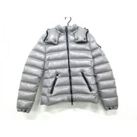 【中古】 モンクレール MONCLER ダウンジャケット サイズ1 S レディース 美品 BADY(バディ) グレー 冬物