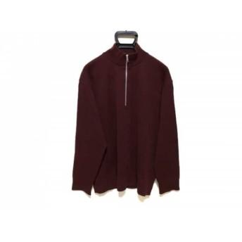 【中古】 ユナイテッド トウキョウ UNITED TOKYO 長袖セーター サイズ2 M メンズ ボルドー