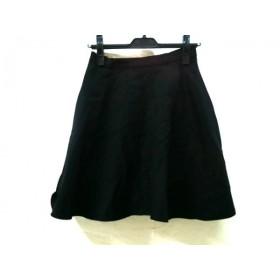 【中古】 グローブ grove スカート サイズS レディース 黒