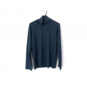 【中古】 アニエスベー agnes b 長袖カットソー サイズT2 メンズ 美品 ブルー