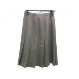【中古】 ジェイプレス J.PRESS スカート レディース ブラウン