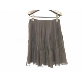 【中古】 クロエ Chloe ミニスカート サイズ36 S レディース 黒
