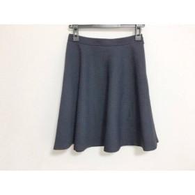 【中古】 ジャスグリッティー JUSGLITTY スカート サイズ1 S レディース ネイビー