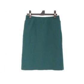 【中古】 シビラ Sybilla スカート サイズM レディース グリーン