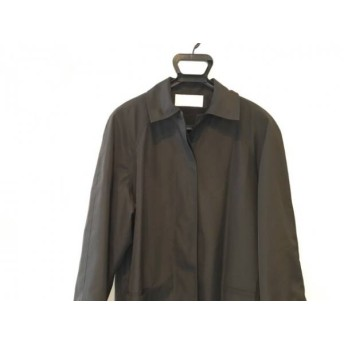 【中古】 ジェニー GENNY コート サイズ42 L レディース ダークグレー 春・秋物