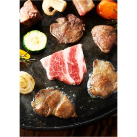 マルシェセレクト イベリコ豚食べ比べ焼肉セット1kg