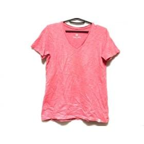 【中古】 サニーレーベルアーバンリサーチ 半袖Tシャツ レディース サーモンピンク