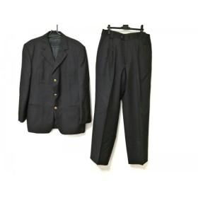【中古】 ヴェルサーチ VERSACE シングルスーツ メンズ ダークグレー V2 BY VERSACE