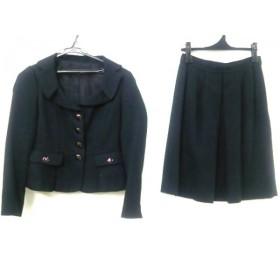 【中古】 モガ MOGA スカートスーツ サイズ1 S レディース 黒