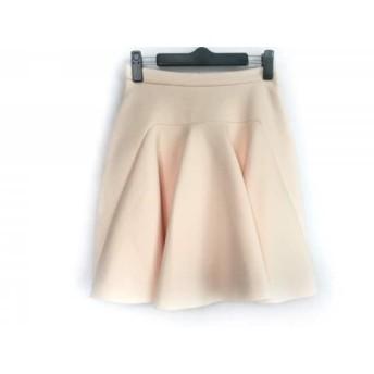 【中古】 フレイアイディー FRAY I.D スカート サイズ1 S レディース ベージュ