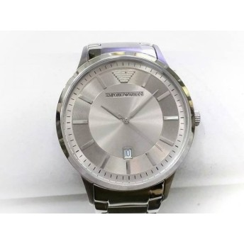 【中古】 アルマーニ EMPORIOARMANI 腕時計 AR-2478 メンズ シルバー