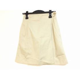 【中古】 ジュンコシマダ JUNKO SHIMADA ミニスカート サイズ9 M レディース ベージュ