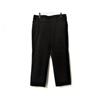 【中古】 アニエスベー agnes b パンツ サイズ38 M レディース 黒