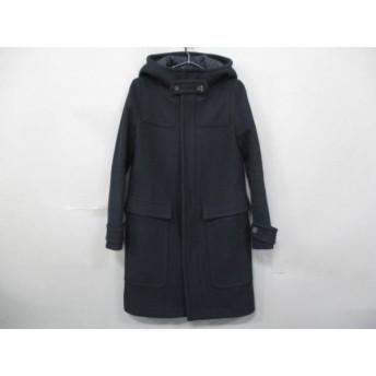 【中古】 リラクス THE RERACS コート サイズ1 S レディース 黒 ジップアップ/冬物 ウール