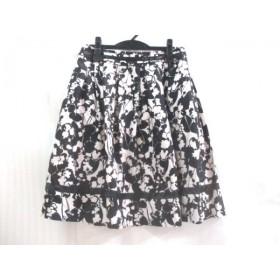 【中古】 ブリジット BRIGITTE スカート サイズ11 M レディース 黒 白