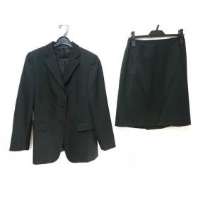 【中古】 コムサデモード COMME CA DU MODE スカートスーツ サイズ11 M レディース 黒