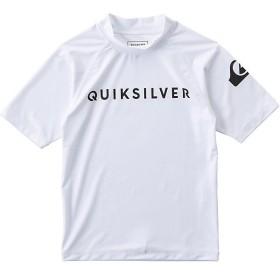 (セール)QUIKSILVER(クイックシルバー)サマー レジャー ジュニアラッシュガード ON TOUR SR KIDS KLY191101 ボーイズ WHT