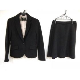 【中古】 クリアインプレッション CLEAR IMPRESSION スカートスーツ サイズ2 M レディース 黒