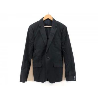 【中古】 アメリカンラグシー AMERICAN RAG CIE ジャケット サイズ1 S レディース 黒