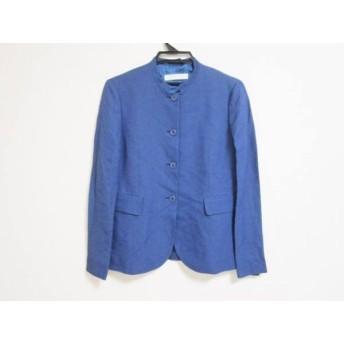 【中古】 ミュウミュウ miumiu ジャケット サイズ42 M レディース ブルー