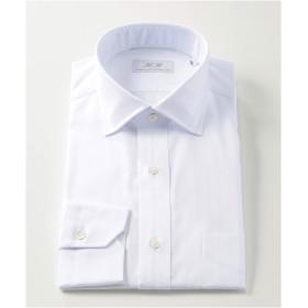 [シャツ]ダブルエイチ ドレスシャツ HH8A-W-039 ホワイトヘリンボーン 42-86